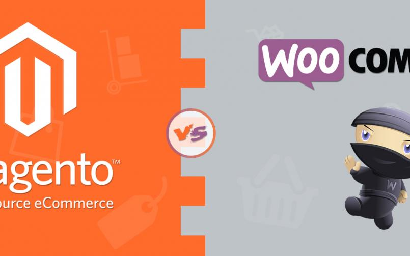 comparision between woocommece and magento