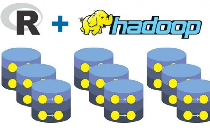 Use Hadoop with R together